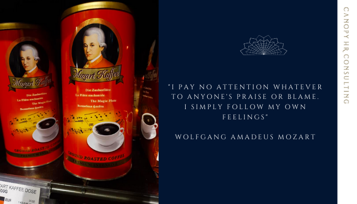Unconventional Inspirations and Trailblazers Part 2: Mozart